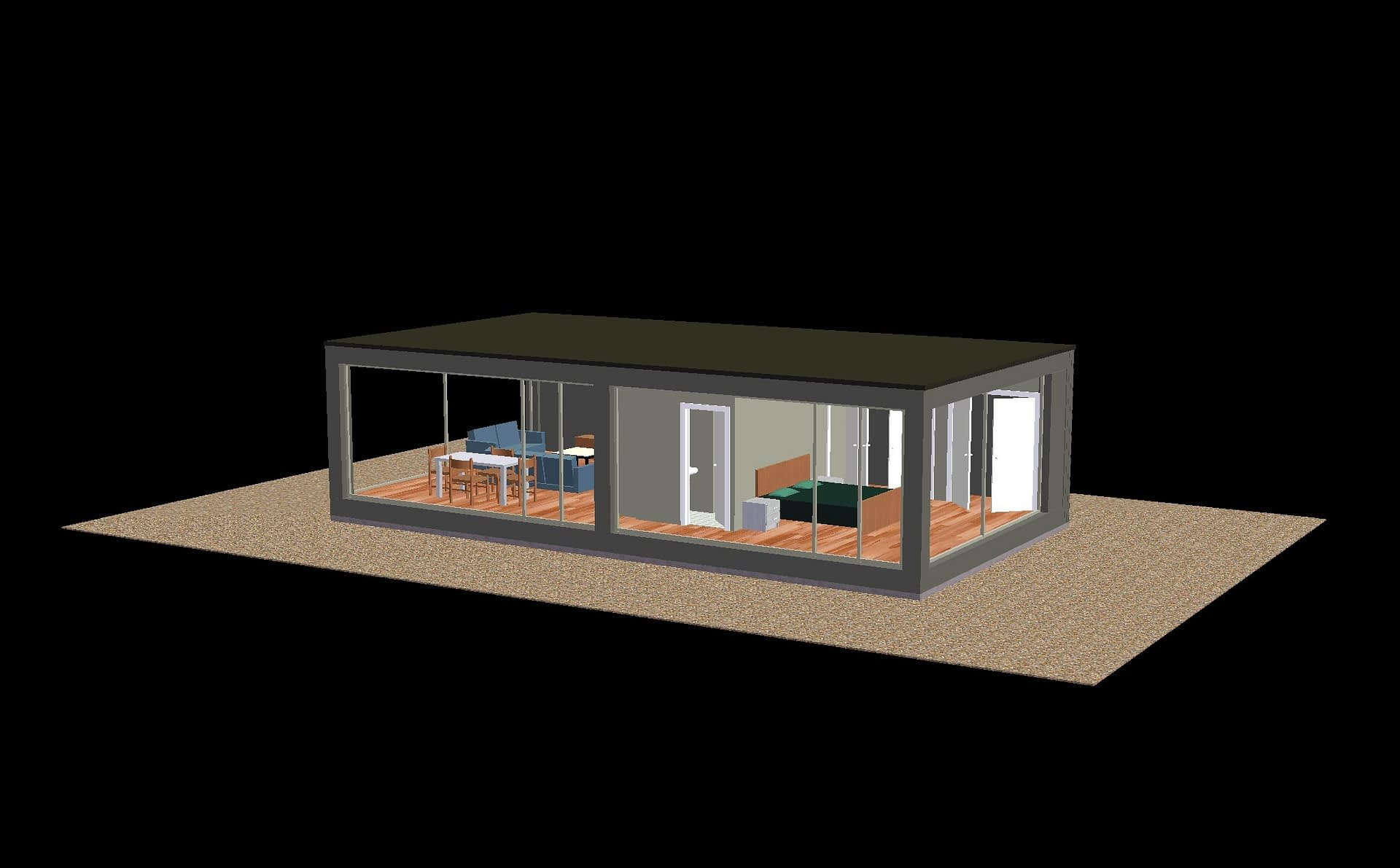 solergy homes backyard cottage solar homes spec 1